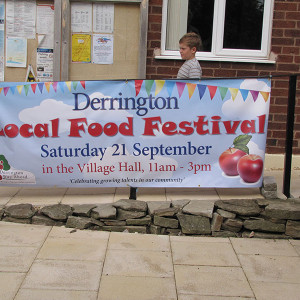 2can PVC Banner Derrington Festival