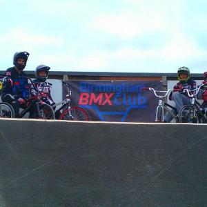 Birmingham BMX PVC banner