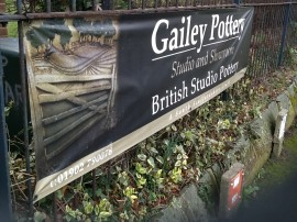 Gailey Pottery PVC Banner