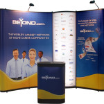 10ft pop up display banner