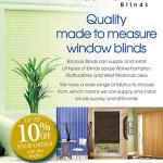 Billbrook Blinds A5 leaflet