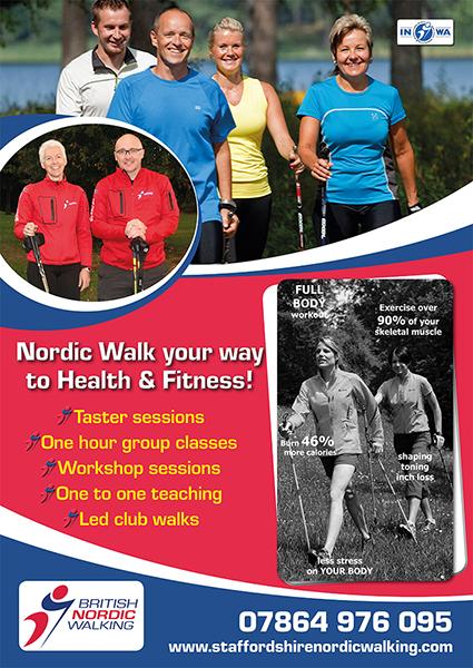 Brit Nordic Walking poster