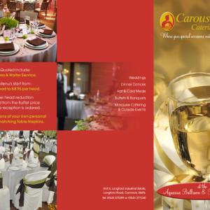 Carousel Catering_DL leaflet
