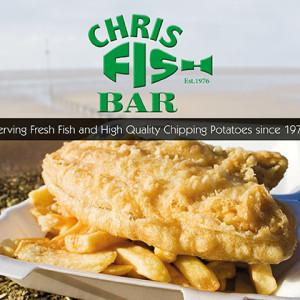 Chris Fish Bar A5 leaflet