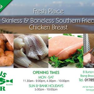 Chris Fish Bar A5 leaflet 2