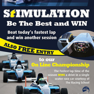 F1 sim poster