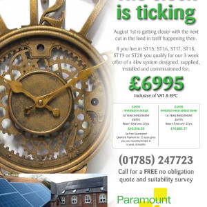 Express and Star Advert – Solar Energy
